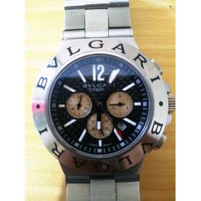 13d8a8e567b Leilo Relogio Bulgari Diagono Star - Relógios De Pulso no Mercado ...