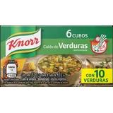 Caldos Knorr Verduras 6 Unid. Blister X 10