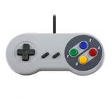 Control Retro Clásico Super Nintendo Snes Usb P/ Pc - T153