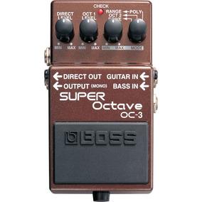 Pedal Boss Oc 3 Super Octave Oc3