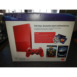 Playstation 2 Rojo