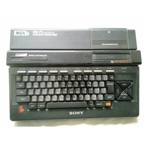 Sony Msx 2 - Hb-f1 - Msx - Video Game - Ram 64k Frete Gratis