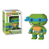 Figura Coleccionable Funko Pop Tortugas Ninja Leonardo 8-bit