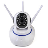 Camera Ip Hd Wireless Segurança Infra Sistema Yyp2p Yoosee