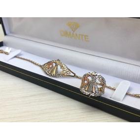 1c76f17b519e Esclava De Oro Con Diamantes Para Mujer - Joyas y Relojes en Mercado ...