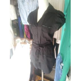 edca051607 Vestidos Camiseros Informales - Vestidos de Mujer Liso en Mercado ...