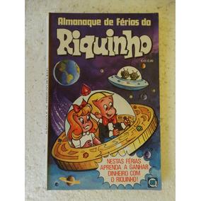 Almanaque De Férias Do Riquinho Nº 1! Rge Nov 1977!!