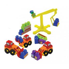 Brinquedo Educativo Construção Dismat Com 28 Peças