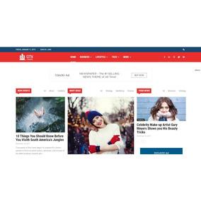 Tema Wordpress Portal De Notícias Com 50 Demos