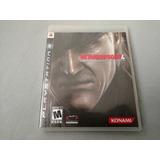 Metal Gear Solid 4 Original Para Ps3