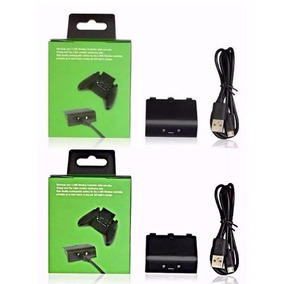 2 Bateria Cabo Carregador Controle Xbox One Charge Play Kit