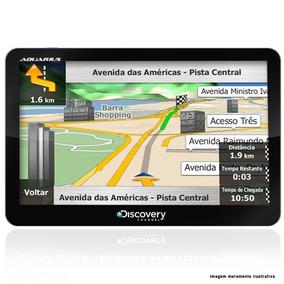 Gps Discovery Channel 7 Polegadas Aviso De Radar Tv Digital