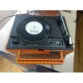 Vitrola Radio Maleta Delta Retro