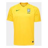 Camisa Seleção Brasil I 2017 S/n° - Torcedor Nike Masculina