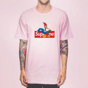Camiseta Camisa Supreme Skat Pica Pau Promoção!