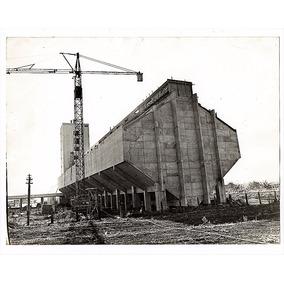 Fotografia Antiga Construçao Ceagesp De Palmital - Sp - 1988