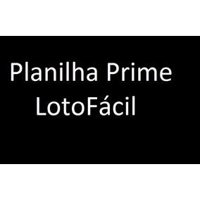 Lotofácil Planilha Prime