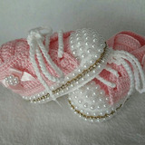 Zapatitos Crochet Bebe