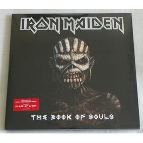 Iron Maiden The Book Of Souls 3 Lp Preto 12x Sem Juros
