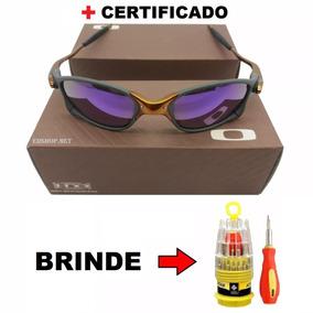 Lente Da Juliet 24k Roxa Oakley - Óculos no Mercado Livre Brasil a28b4b3137