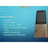 Celular Cnc C2 Desbloqueado Redes Sociales 2g