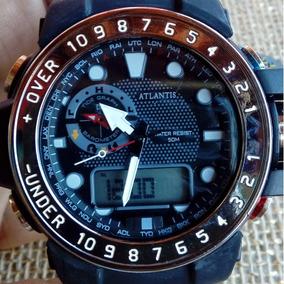 6ba1a15eedd Relógio Atlantis Masculino em Belo Horizonte no Mercado Livre Brasil