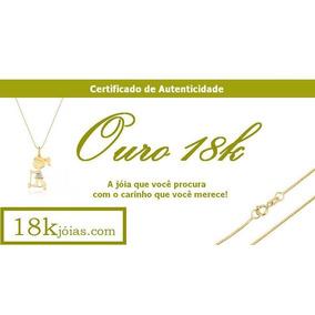 Cordão Feminino Em Ouro 18k 3 Cores