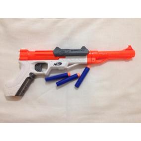 Nerf Sharpfire 3 Dardos Pouco Uso Hasbro Falta Cabo R$64,98