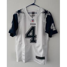 6786cd1dfd7fc Jersey Dallas Cowboys Vaqueros Nacional Bordado Dak Prescott