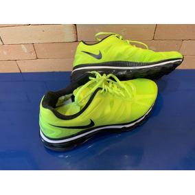95783a5bea7fd Nike Airmax Verde Limão Tamanho 9