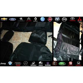 Kit Completo Fundas Tapizado Negro Eco-cuero Calidad Premium
