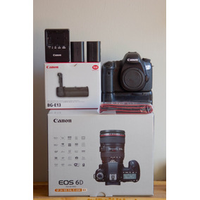 Camara Canon 6d Con Battery Grip Original