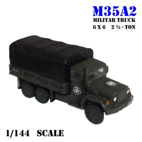 Miniatura Caminhão 1/144 Militar Truck M35a2 6x6 2.5 Ton