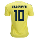 Camisa Colombia 3510 Valderrama Copa no Mercado Livre Brasil f17a48b028e02
