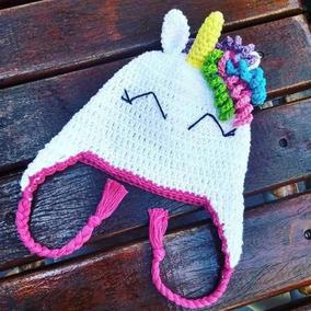Touca De Croche Unicornios Toucas - Acessórios da Moda no Mercado ... 85109a2cb7b