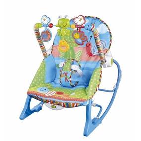 Silla Mecedora Bebe Con Barral De Juegos Ok Baby Okbb0153