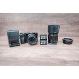 Câmera Sony A6000 + Lente 50mm 1.8 Oss + 16-50 3.5-5.6 Oss