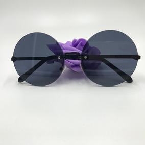 fb00f5f1a1c77 Oculos Redondo Antigo Aro Fino De Sol Outras Marcas - Óculos no ...