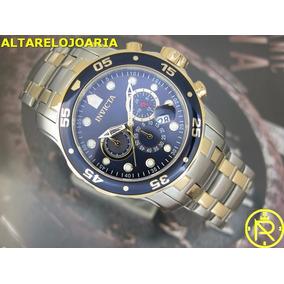 0f02d8e0fbd Relogio Invicta Dourado Pro Diver - Relógios De Pulso no Mercado ...