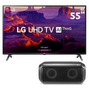 Smart Tv Led 55 Ultra Hd 4k Lg 55uk6360psf + Caixa De Som