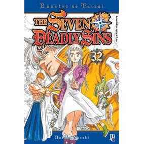 Lote Mangás Seven Deadly Sins Nº 32, 33 E 34 ( Nanatsu No Ta