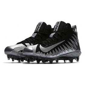 Nike Alpha Menace Pro Mid Tachones Negro metallic 30mx 101376b210945