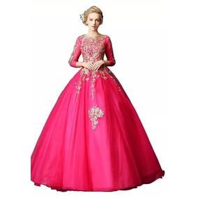 Vestido Xv Años Fiesta Quinceañera Nuevo Bonito Promocion