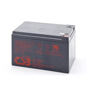 Kit 2 Baterias Seladas 12v 12a Csb