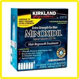 Mino-xidil 5% X6 Frascos 60ml Barba Cabello + Gotero