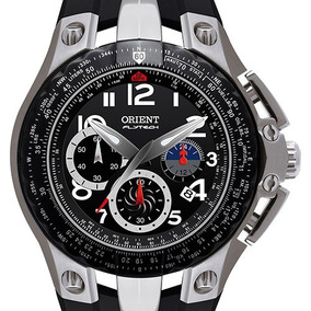 Relógio Orient Mbtpc002 Flytech Titânio Masculino Original