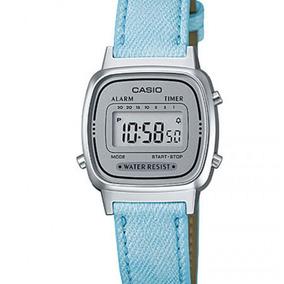 d15f29646a5 Relógio Casio Mini Jeans Claro - Relógios De Pulso no Mercado Livre ...