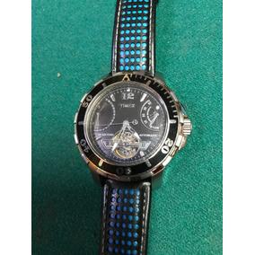 9631fbe2e98c Reloj Para Caballero Timex Automatico Pulso Piel Original