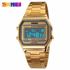 Relógio Feminino Skmei 1123 Luxo Original Vintage Promoção