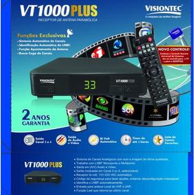 Cinco Receptores Vt1000 Plus Analógico Entrada Uhf Visiontec